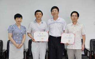 中国鞋业研发设计中心聘请石碧教授和徐波教授为首席技术顾问