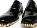 1050颗假牙镶嵌鞋底:社会与自然并行进化 (2图)