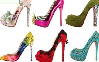 Christian性感红底高跟鞋 演绎致命诱惑