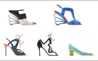 Nicholas Kirkwood 2013早春高跟鞋系列