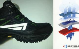 SympaTex单导向除湿产品提升户外鞋功能