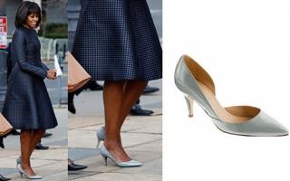 美第一夫人总统就职典礼御用鞋履价值一千五